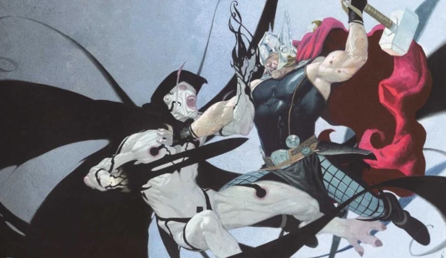 Gorr The God Butcher vs Thor Marvel Comics
