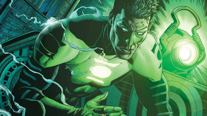 DC Comics Green Lantern Ethan Van Sciver
