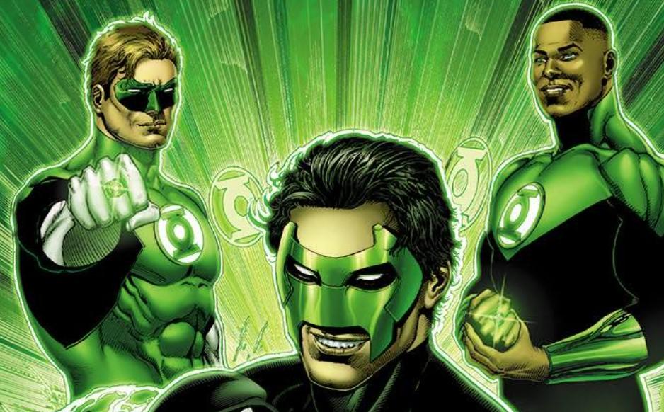 Green Lantern DC Comics Ethan Van Sciver