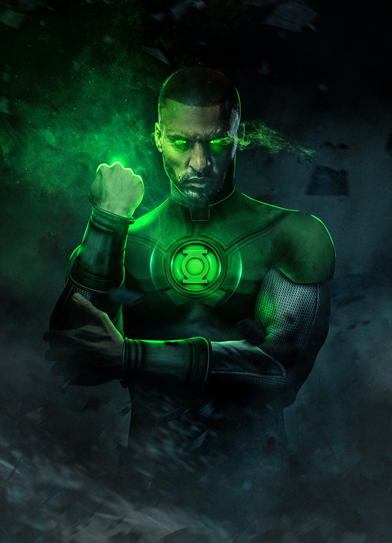 Ricky Whittle Green Lantern