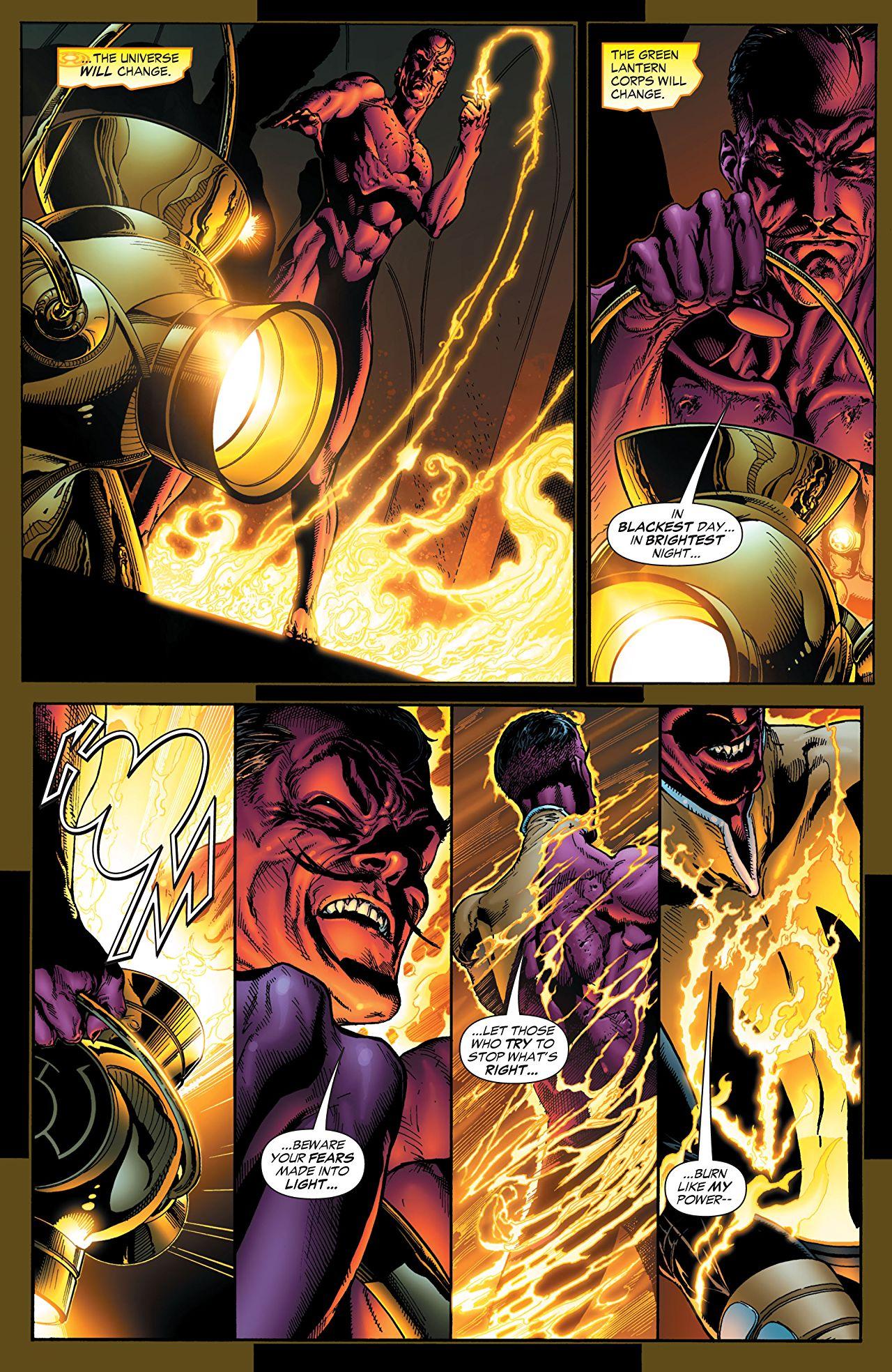 Green Lantern Sinestro Corps War