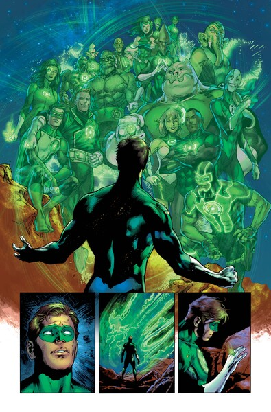 Green Lantern 80th Anniversary first look preview