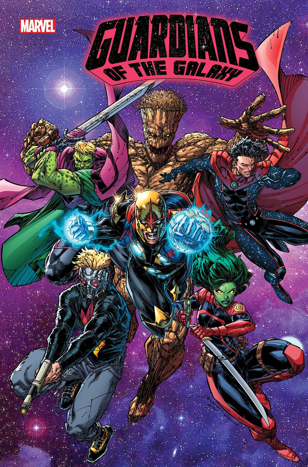 Guardians of the Galaxy 13 Marvel Comics