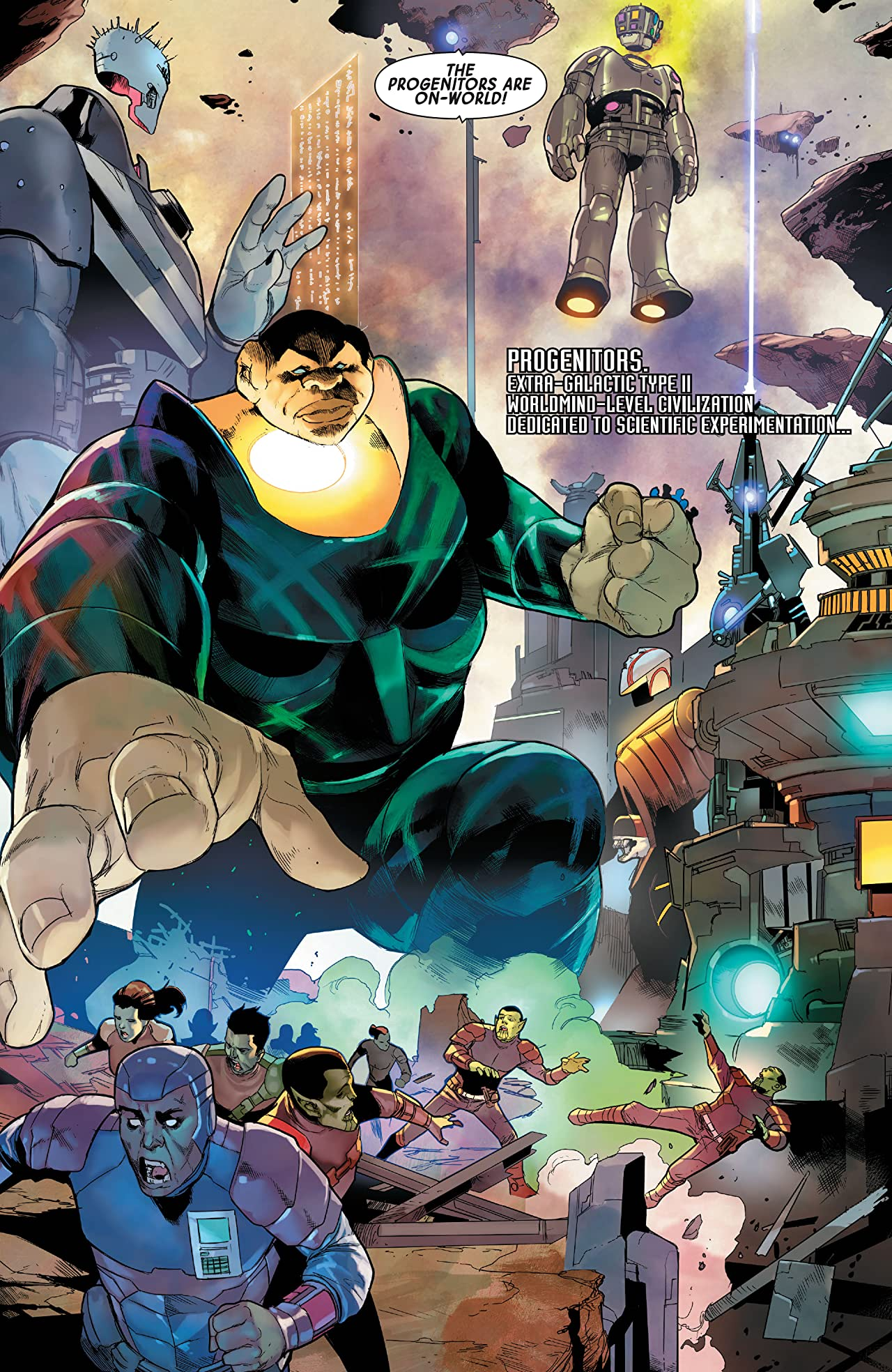 Guardians of the Galaxy 13 preview Marvel Comics