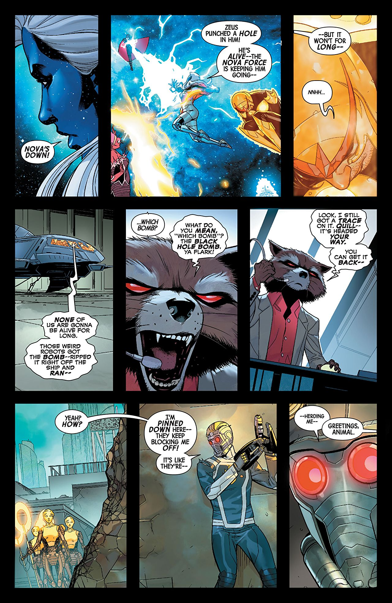 Guardians of the Galaxy #2 preview