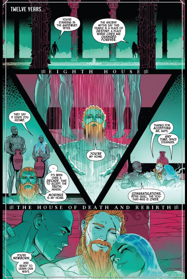Star-Lord bisexual Guardians of the Galaxy Marvel Comics