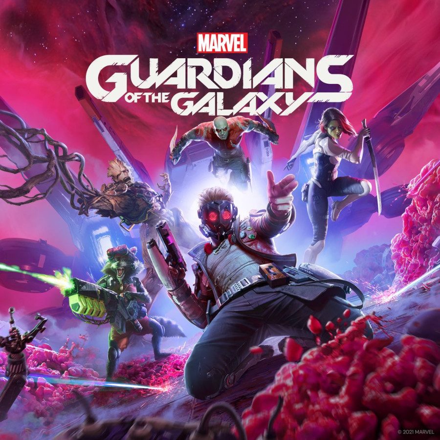 Guardians of the Galaxy video game square enix