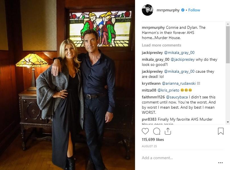 American Horror Story: Apocalypse Connie Britton Dylan McDermott