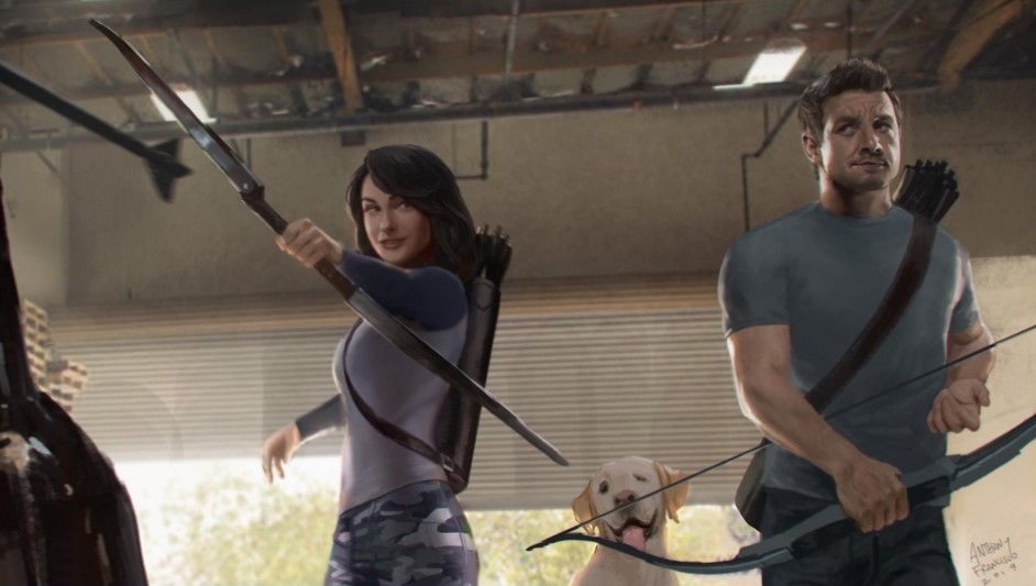 HAWKEYE: Latest Set Photos Spotlight Hailee Steinfeld And Her Adorable Canine Co-Star