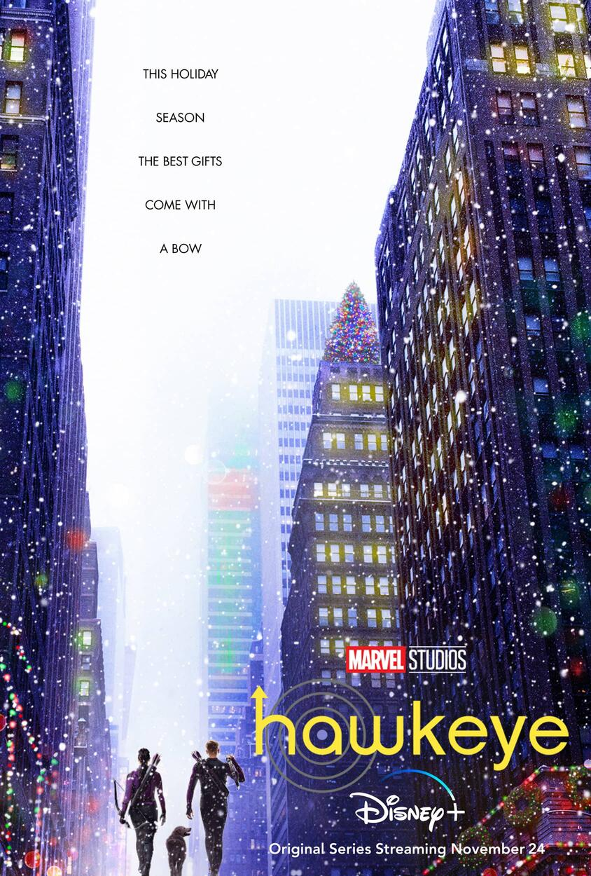 Hawkeye poster Disney Plus Marvel