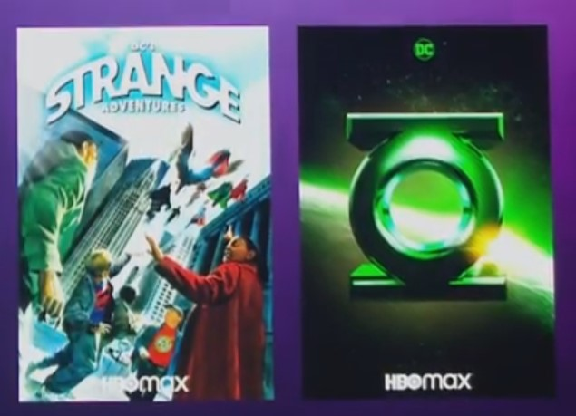 HBO Max Green Lantern Adam Strange posters
