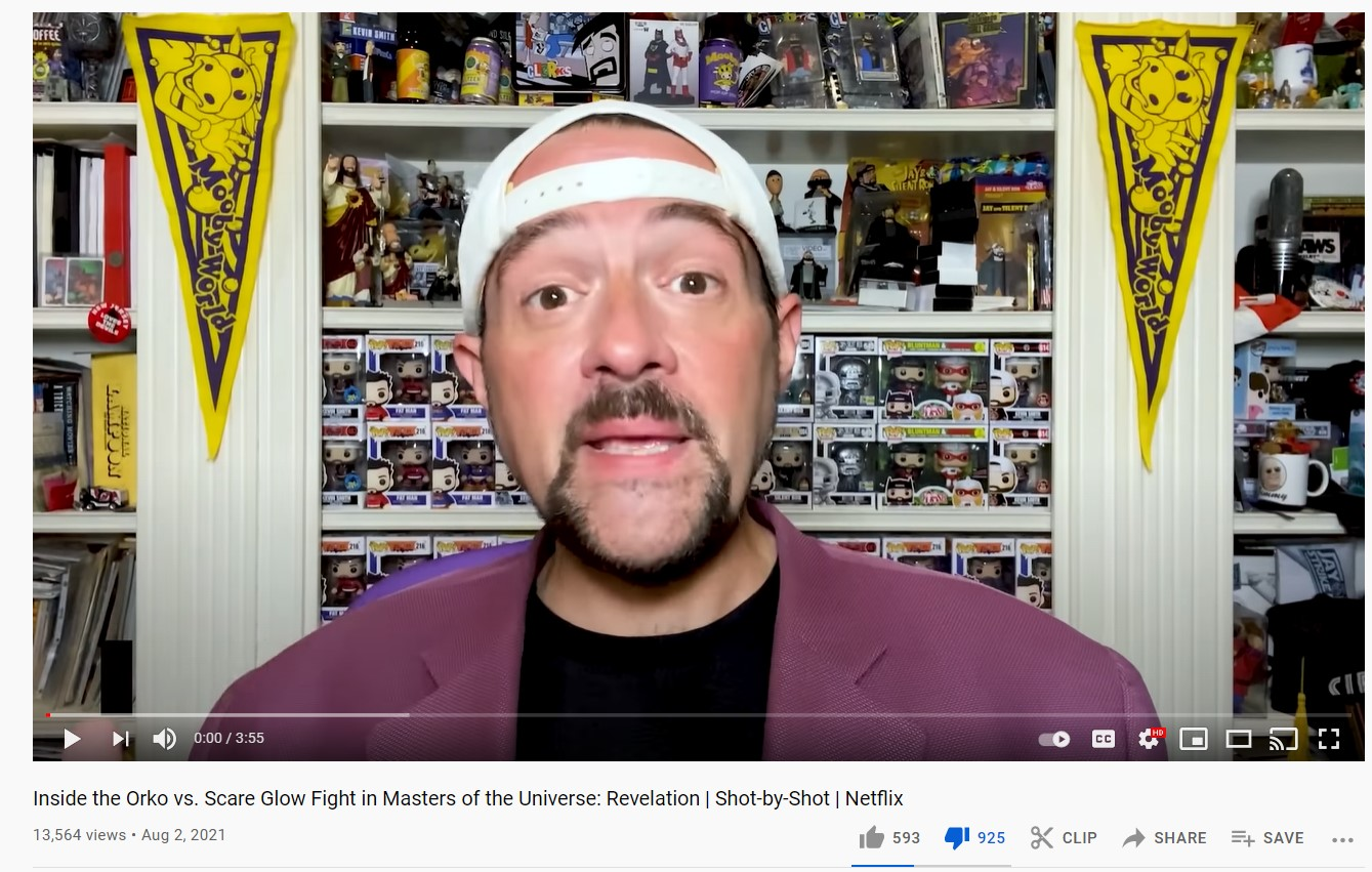 He-Man Fans reject Kevin Smith Masters of the Universe Revelation Netflix YouTube