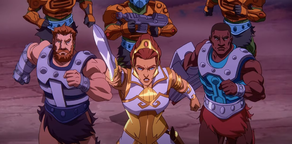 He-Man Masters of the Universe Kevin Smith Netflix Teela