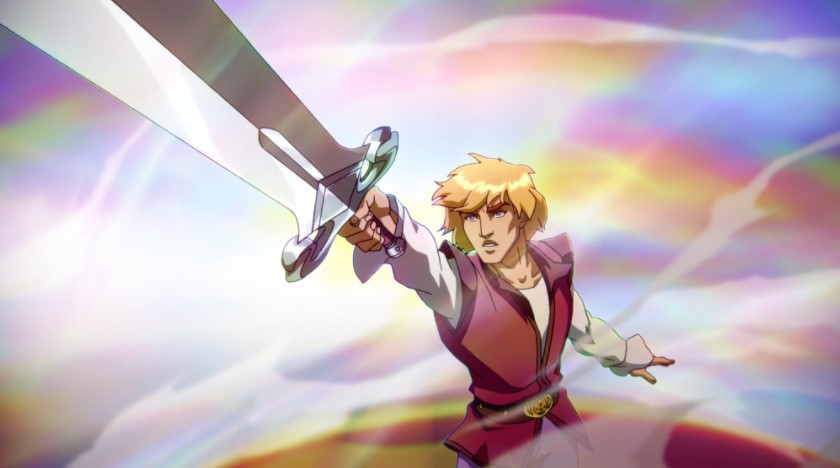 Prince Adam in Masters of the Universe Revelation Netflix