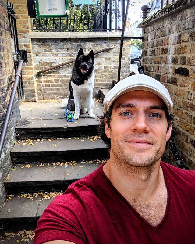 Henry Cavill Kal Dog Day