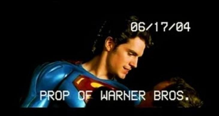 Henry Cavill Superman Flyby