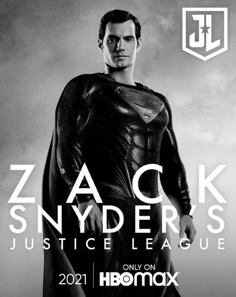 Henry Cavill Superman Snyder Cut Poster