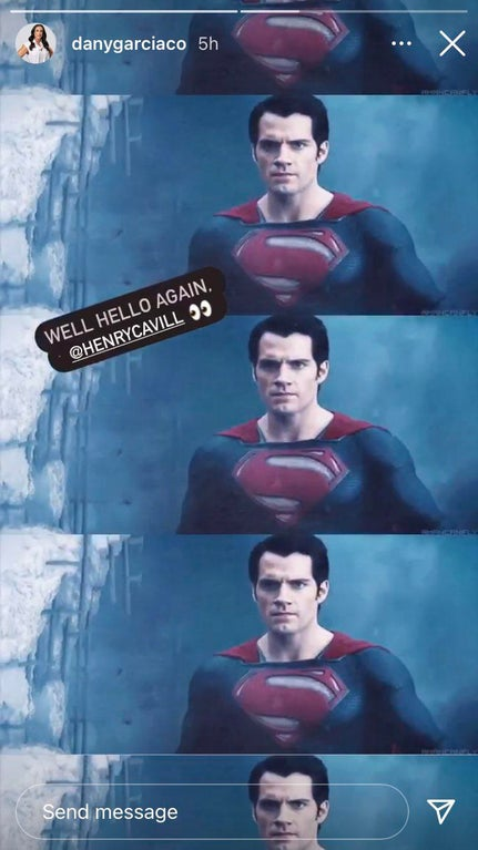 Henry Cavill Superman Justice League Dany Garcia