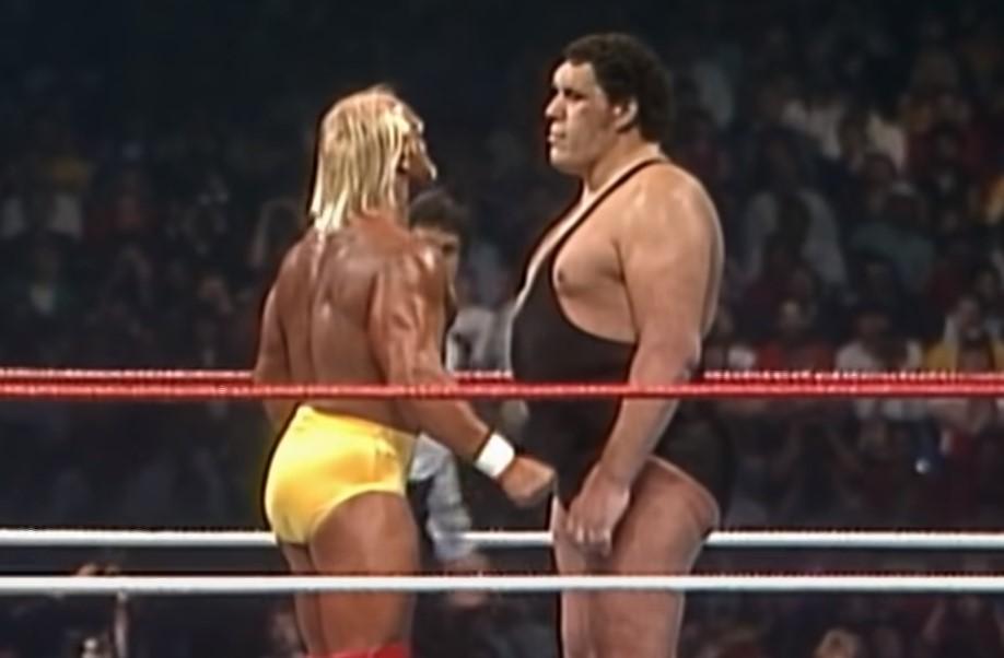 Hulk Hogan vs Andrew the Giant Wrestlemania 3