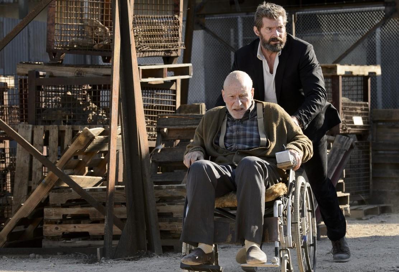 Hugh Jackman Wolverine Patrick Stewart Xavier Logan