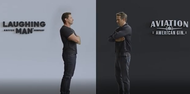 Hugh Jackman and Ryan Reynolds tease feud