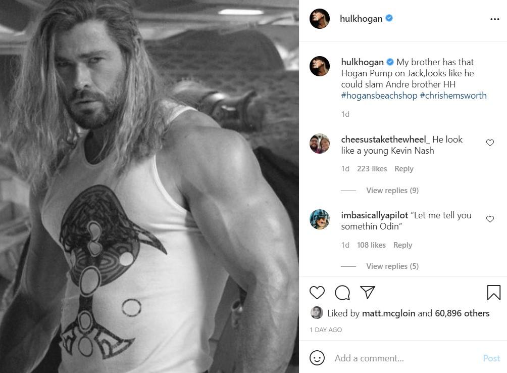 Chris Hemsworth Thor Love and Thunder wraps filming