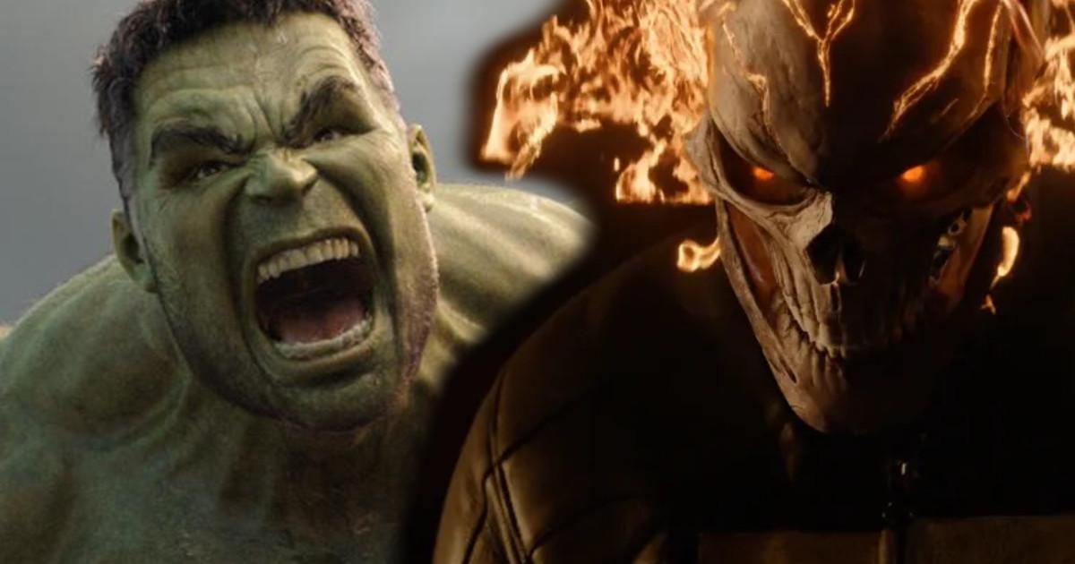 Hulk vs Ghost Rider Marvel