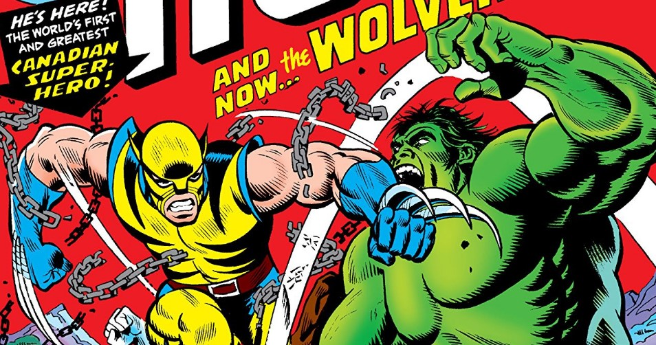 Wolverine vs Hulk Marvel 181