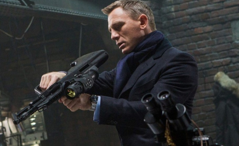 Daniel Craig injured James Bond
