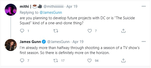 James Gunn more dc projects