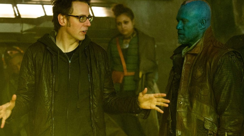 James Gunn Michael Rooker