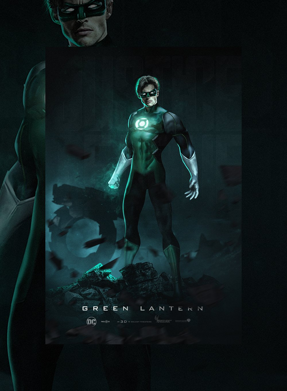 James Marsden Green Lantern fan art