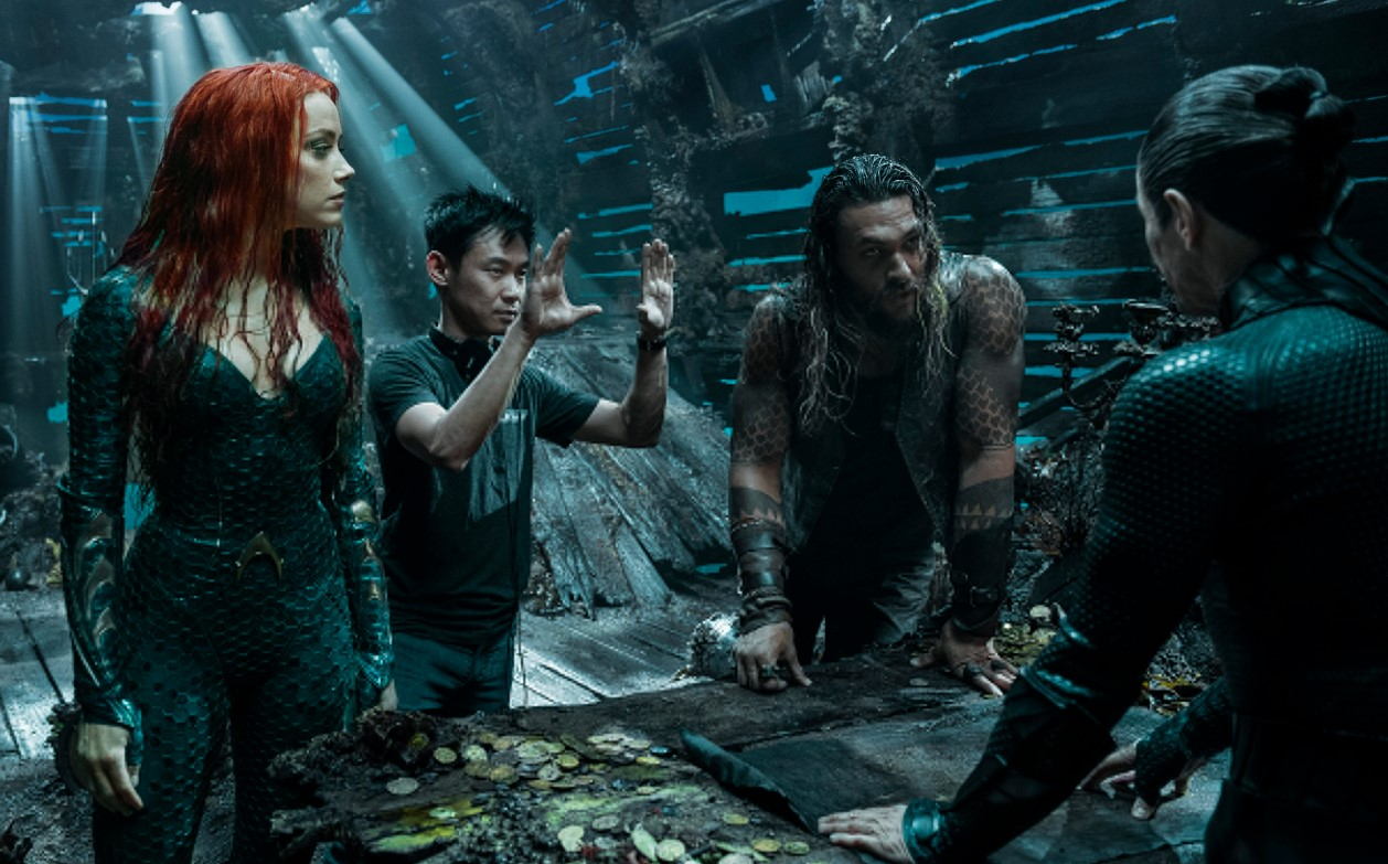 Jason Momoa James Wan Aquaman billion