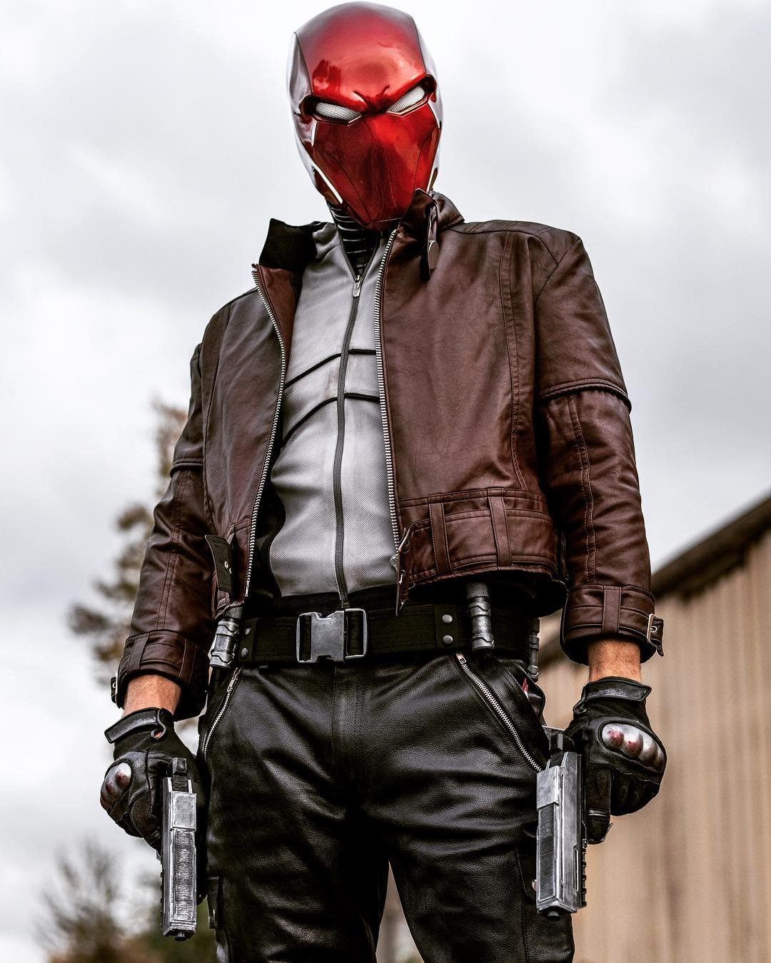 Jensen Ackles Red Hood