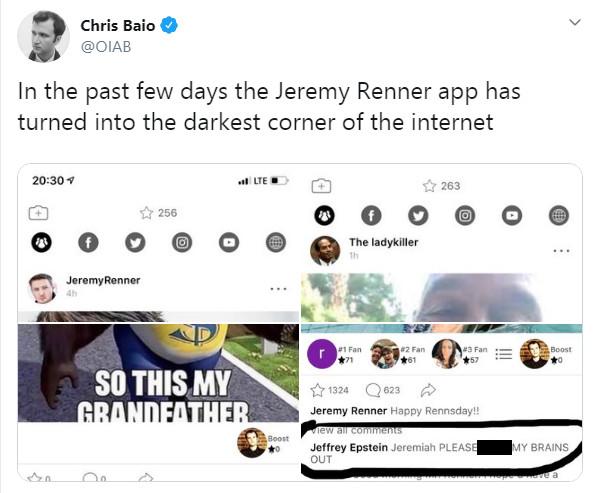 Jeremy Renenr Shuts Down EscapeX App; Twitter Explodes ...
