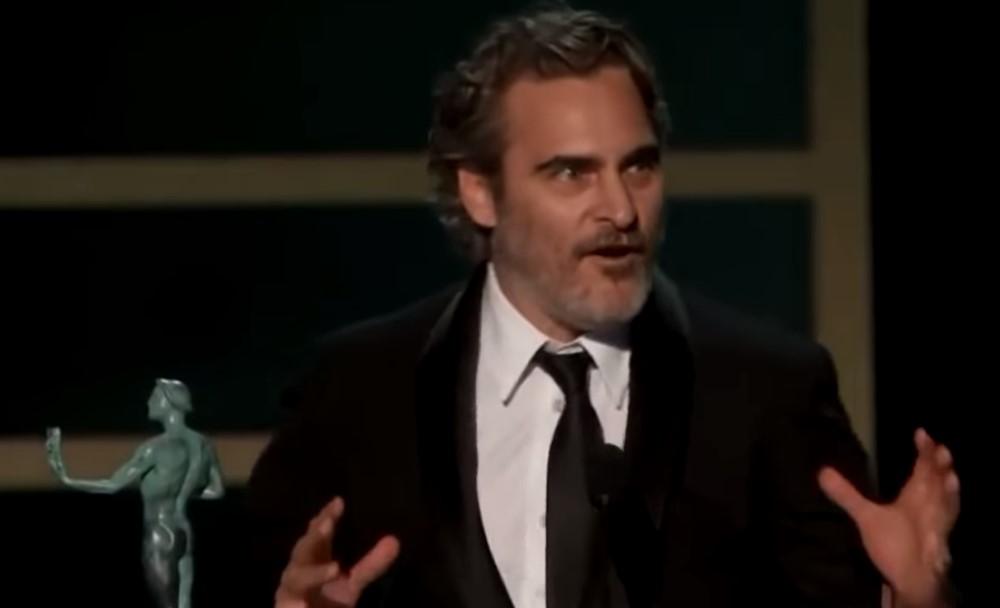 Joaquin Phoenix Sag Awards Heath Ledger