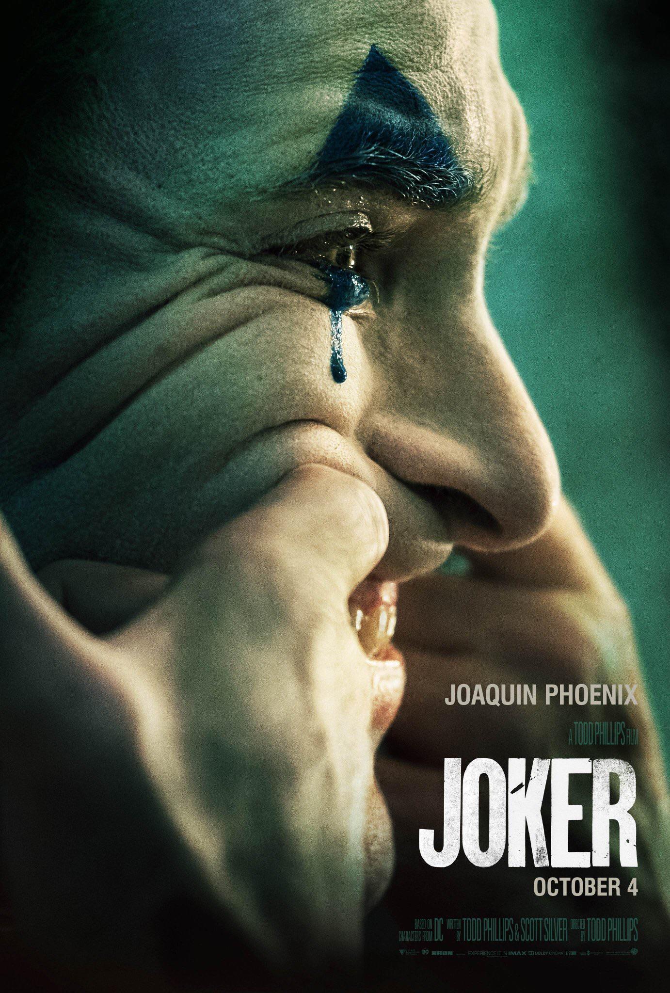 Joker Joaquin Phoenix poster