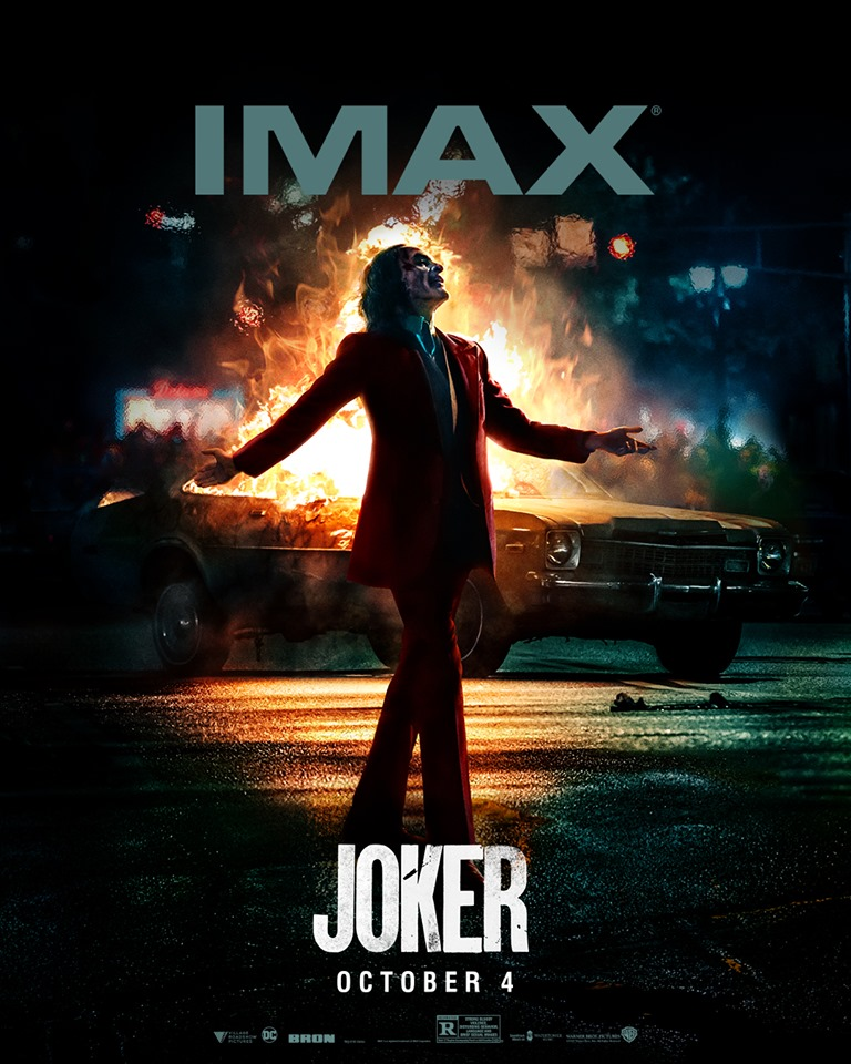 Joker Tickets On Sale; New Joaquin Phoenix Posters