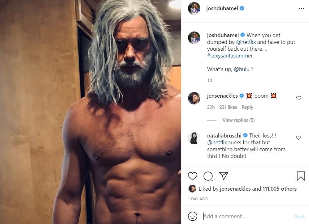 Jupiter's Legacy Josh Duhamel