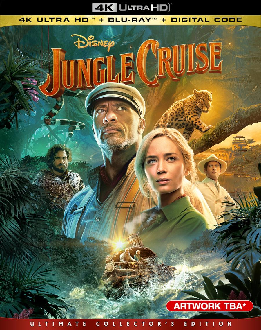 Jungle Cruise digital blu-ray