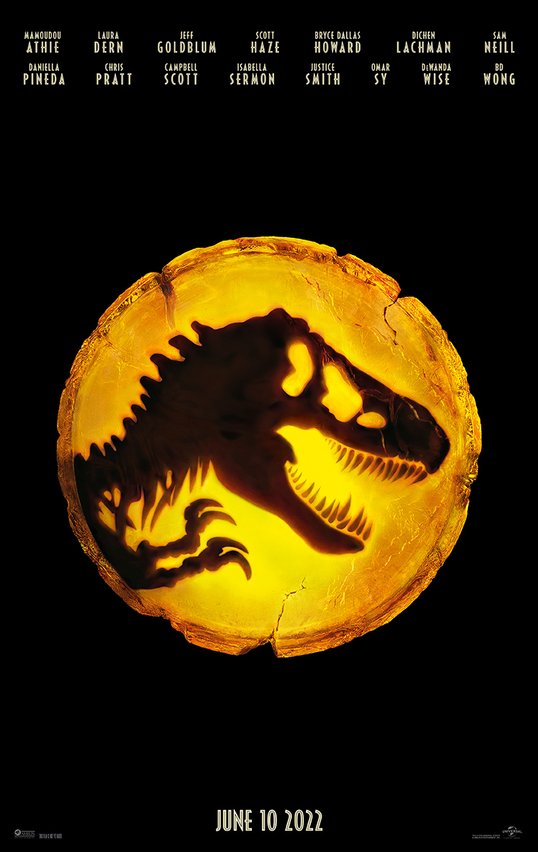 Jurassic World Dominion Poster