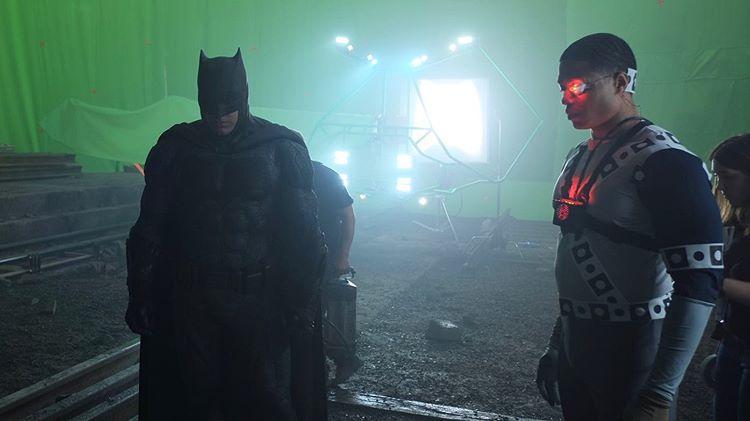 Justice League Ben Affleck Batman Ray Fisher Cyborg
