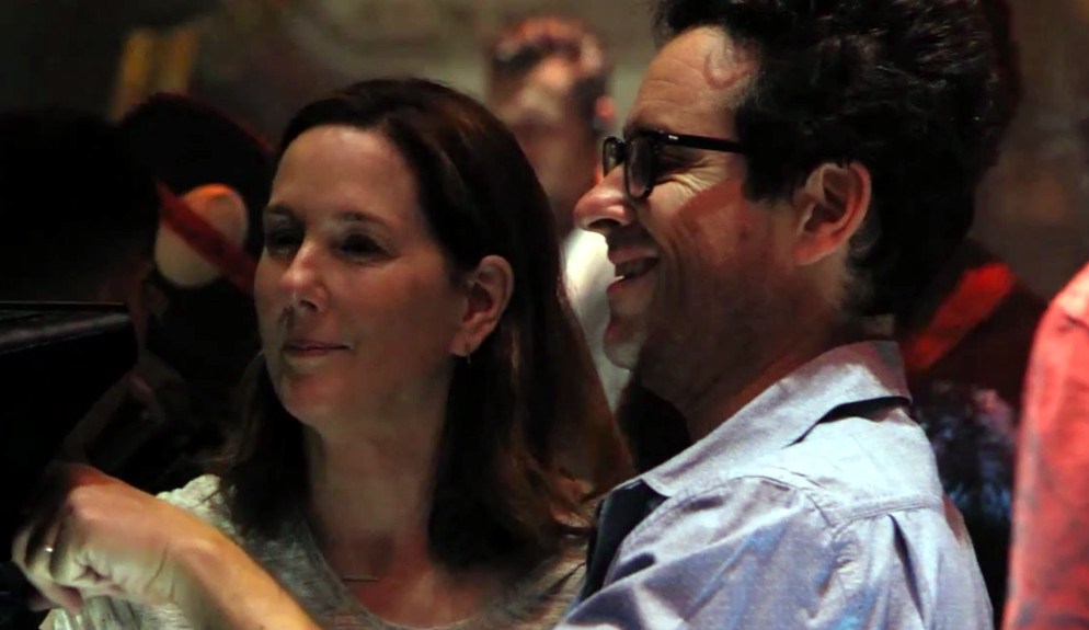 Kathleen Kennedy and JJ Abrams Star Wars Disney