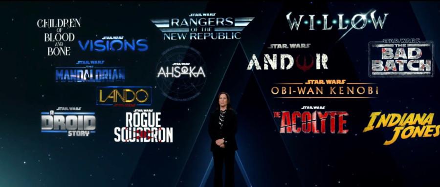 Kathleen Kennedy Star Wars Disney Investor Day