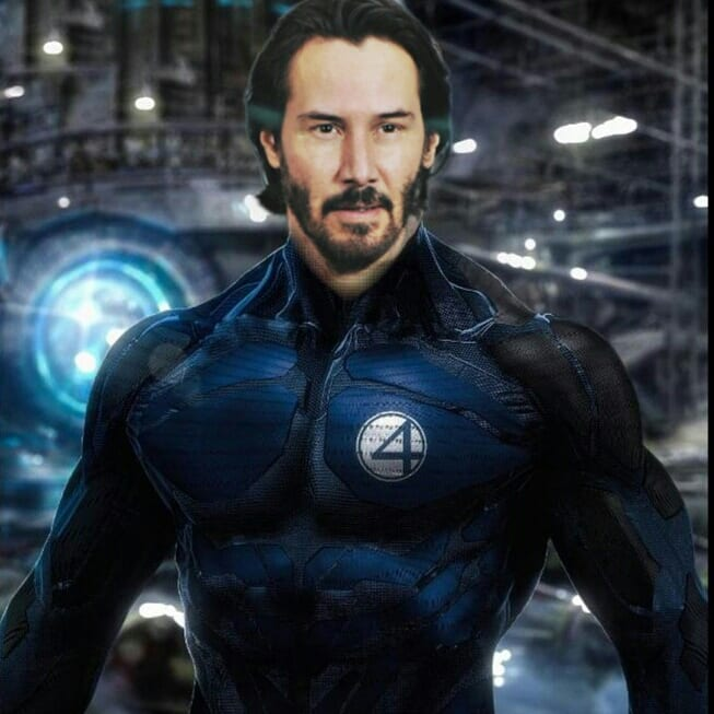 Keanu Reeves Marvel MCU Fantastic Four