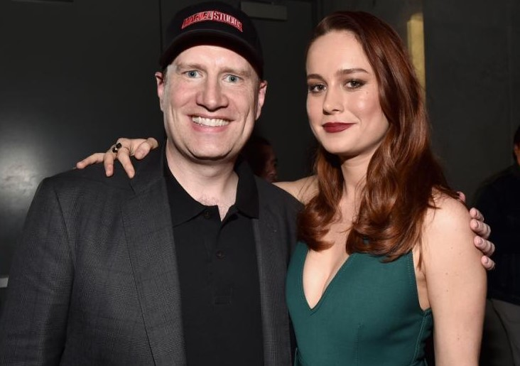 Kevin Feige Brie Larson