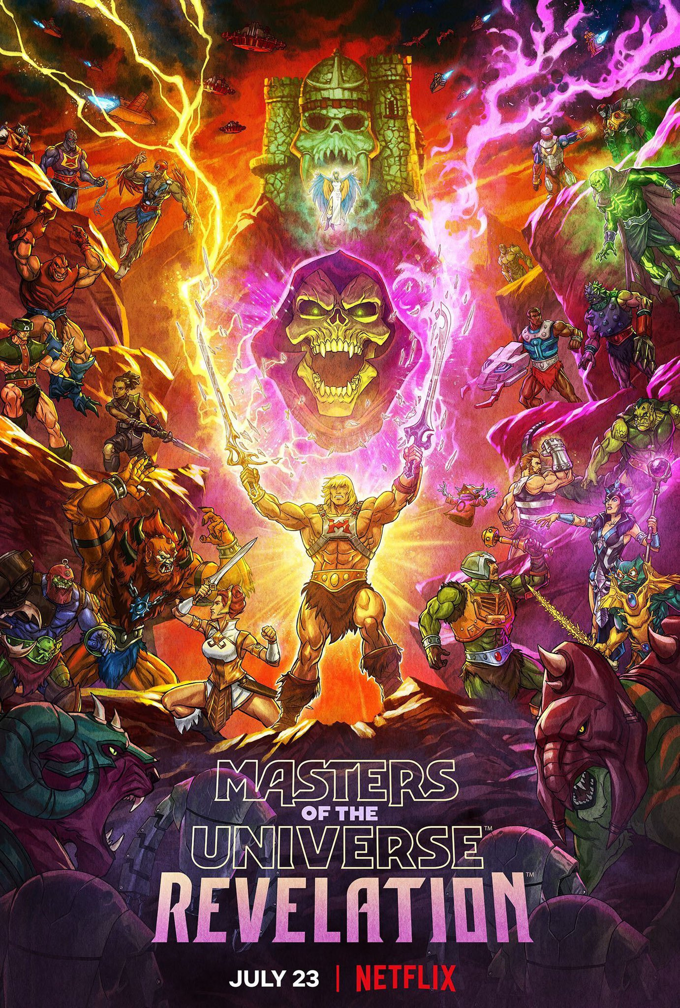 Kevin Smith He-Man Masters of the Universe Revelation Poster