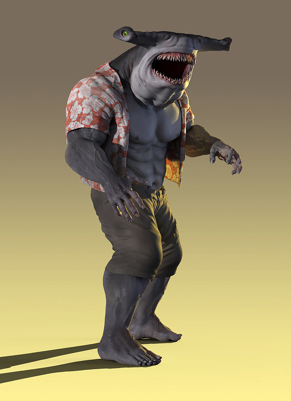 Suicide Squad king shark