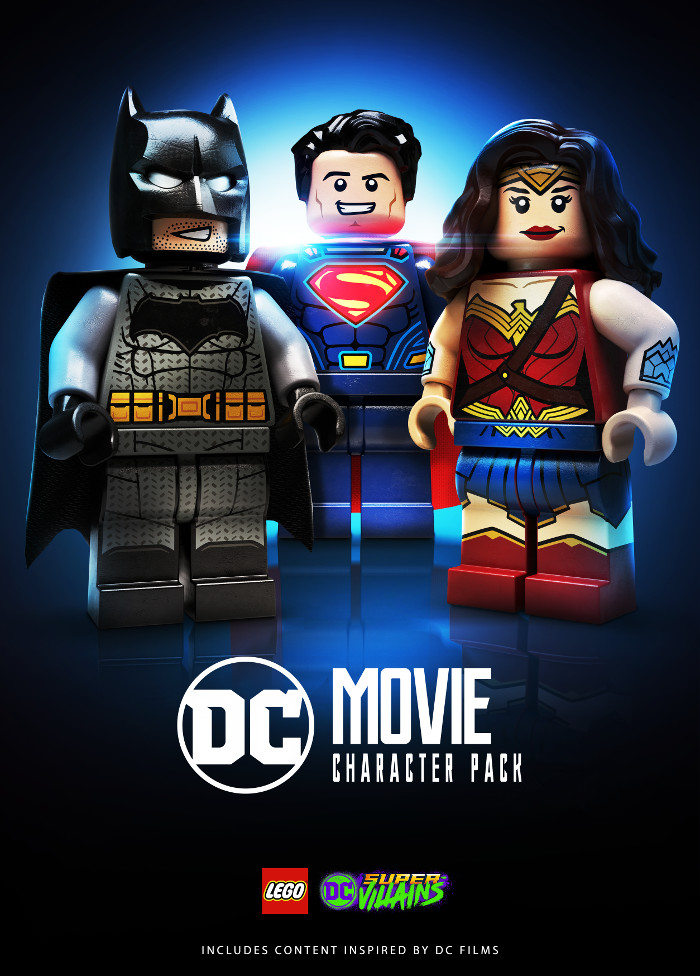 LEGO DC Super-Villains DC Movies