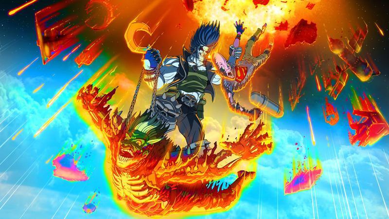 Lobo art animated series